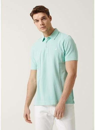 Beymen Club Beymen Club Comfort Fit Mint Polo Yaka T-shirt 101596368 Yeşil
